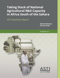 ASTI africa report Nov 2014 2
