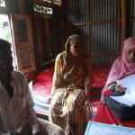 Bhola survey participants. Photo: Sonia Atker